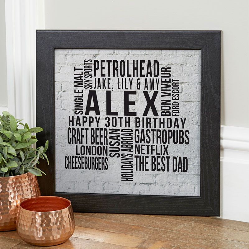 30th birthday gifts present ideas for him chatterbox