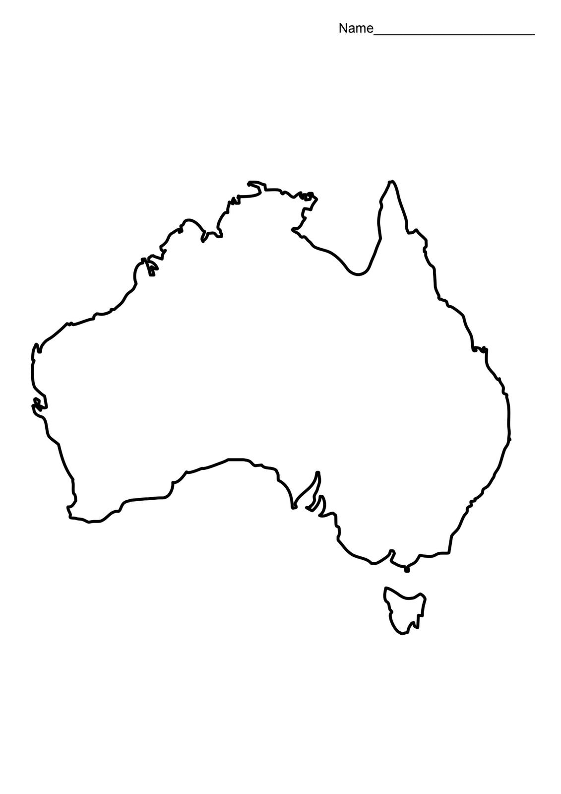 blank australia map - Google Search | LEARNING: Australia