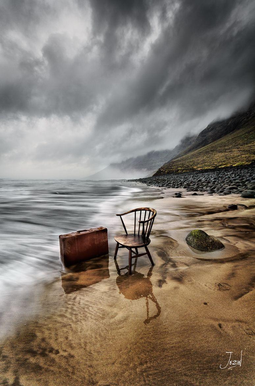 Amanecer Famara - Lanzarote=Suitcase....