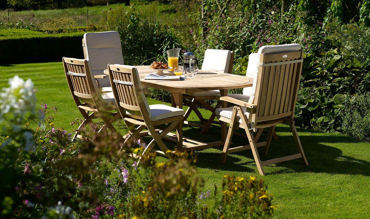 Bramblecrest\'s Classic Teak Garden Furniture collection blends ...
