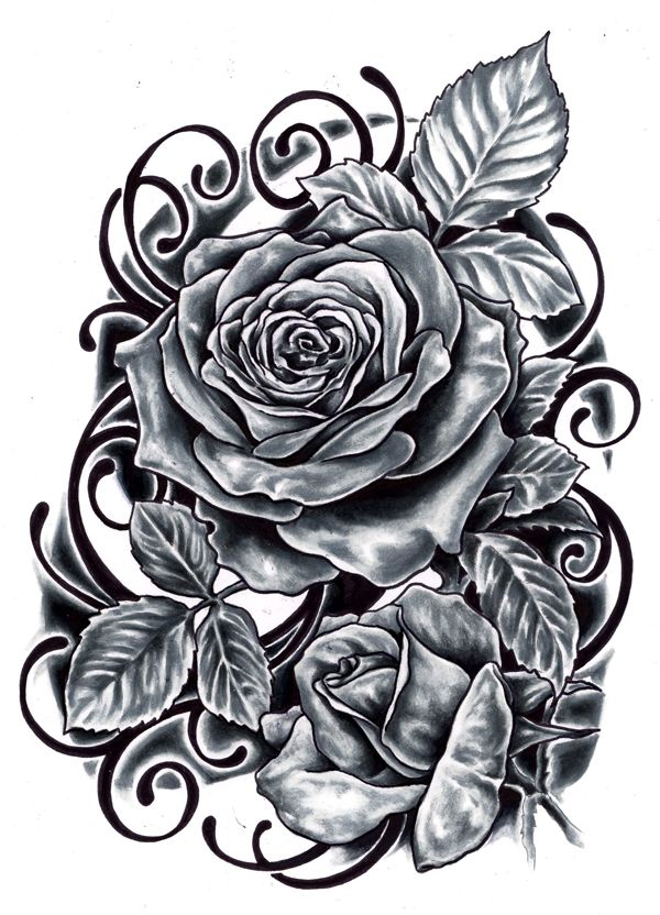 Black Rose Tattoo Design Ideas Photos Images Cute 52 Jpg 600 832 Rose Tattoo Design Black Rose Tattoos Rose Tattoo Stencil