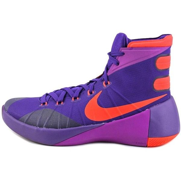 check out 2d2c2 b0d3d uk nike nike hyperdunk 2015 men round toe synthetic purple basketball 92  58872 f4783