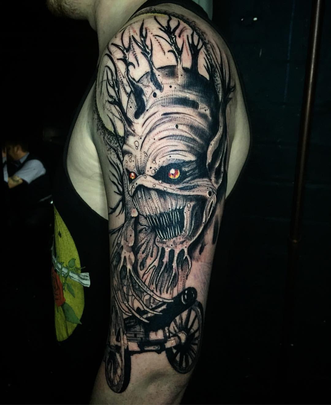 Haydn Higham Acdc Demonic Tattoo Tattoos Ink Master Tattoo Studio