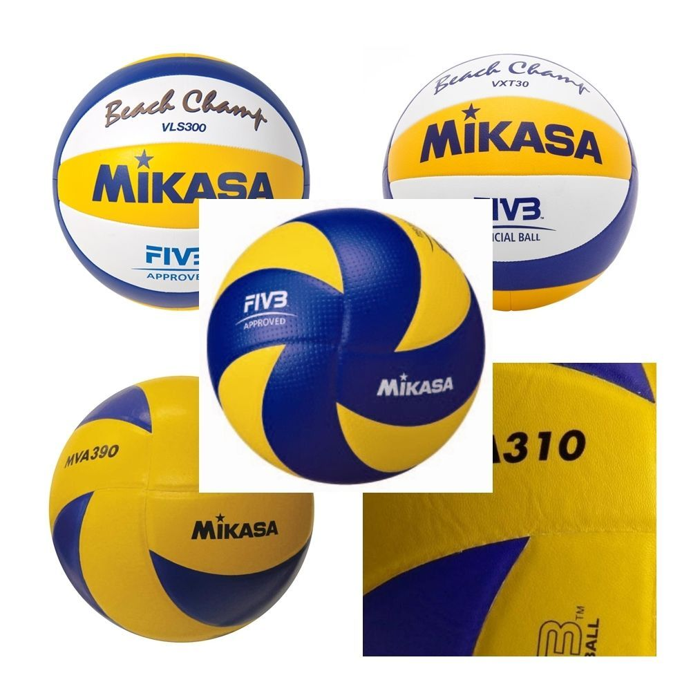 Mikasa Volleyball Olympic Pu Pvc Leather Cover Fivb Game Ball Beach Summer Sport Mikasa