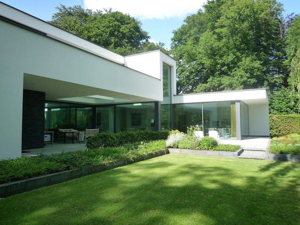 Maas architecten bv project nieuwbouw woning te for Hedendaagse architecten