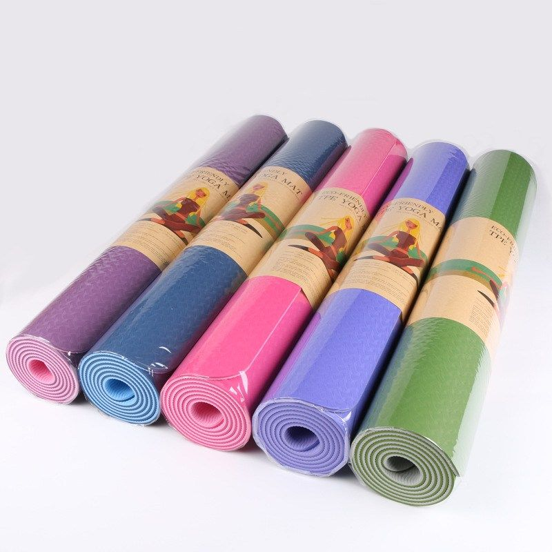 8MM Extra Thick 183cmX80cm High Quality NRB Non-slip Yoga Mats For Fitness Tasteless Pilates Gym Exe...