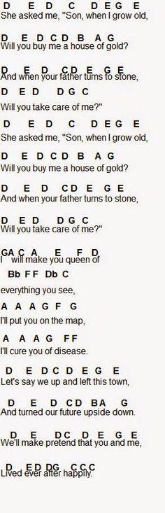Under the sea lyrics chords