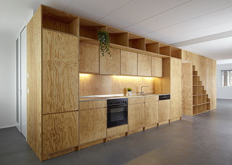Plywood built in furniture by big game wooden furniture for Plywood cupboard