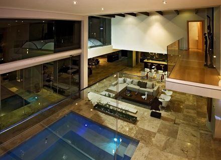 Pin de arquitectura y dise o arquitexs magazine en for Diseno de casas con piscina interior