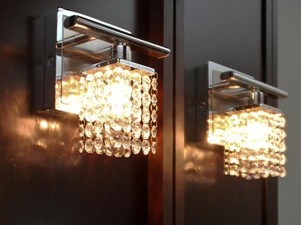 Crystal Bathroom Sconces Http Www Hgtv Designers Portfolio