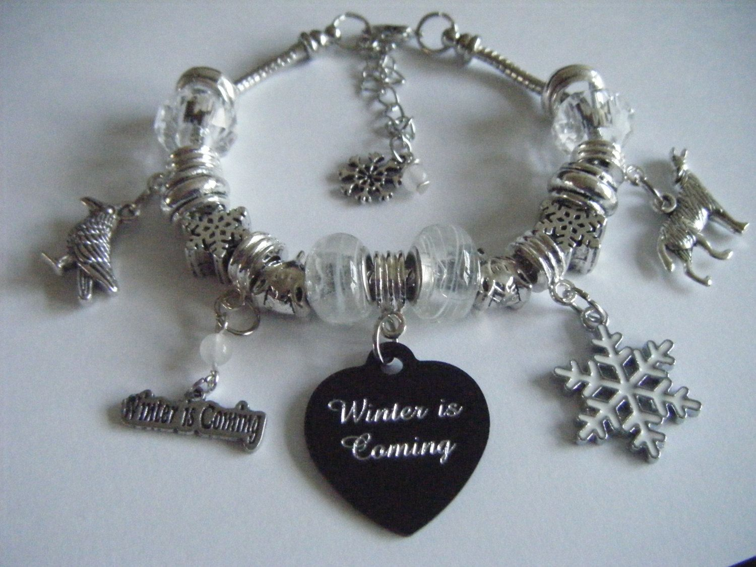 pandora game of thrones charms