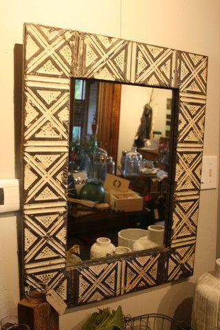 Ceiling Tile Mirror