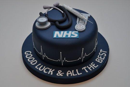 Nhs Nurse Cake Nursing Doctor Cake Cake Medical Cake