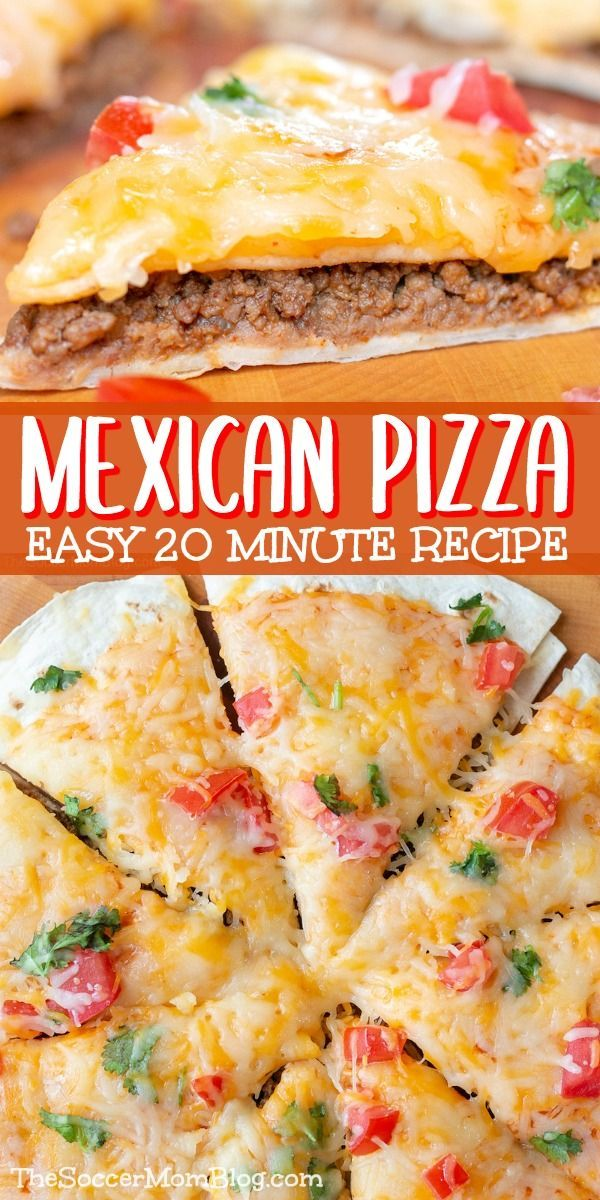 Photo of Easy Mexican Pizza Recipe