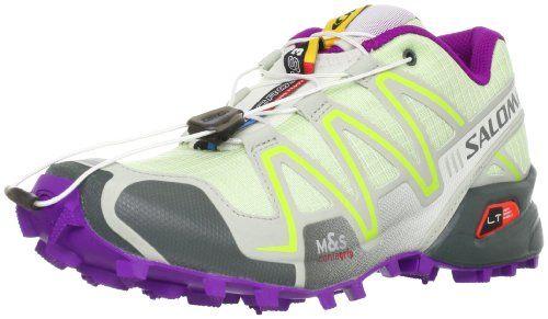 Salomon Women's Speedcross 3 W Trail Running Shoe, Bordeaux/Hot Pink/Lotus  Pink, 5 B US