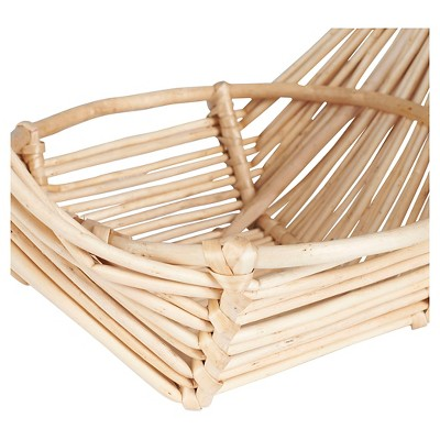 Household Essentials - Wicker Fruit Basket - Natural, Neutral