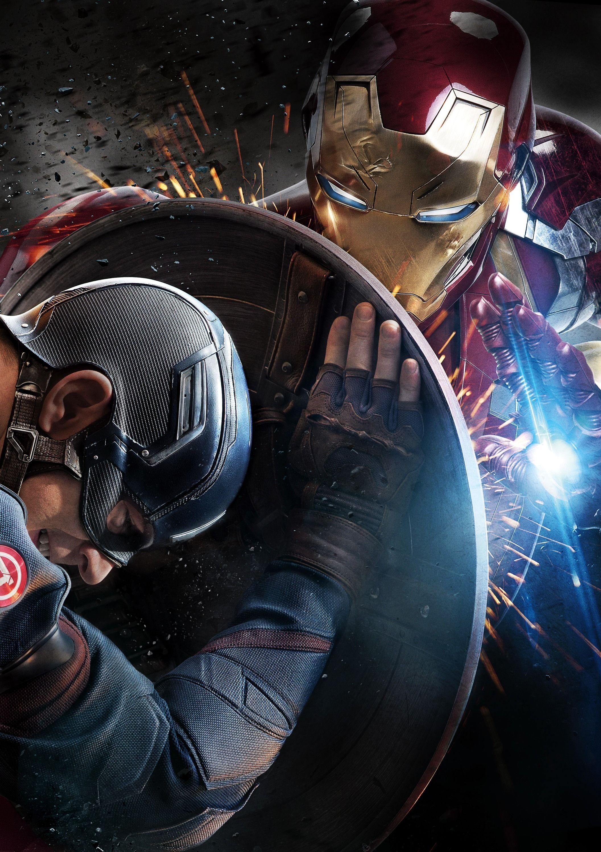 Iron Man Captain America Wallpaper Marvel Kahramanlari Marvel