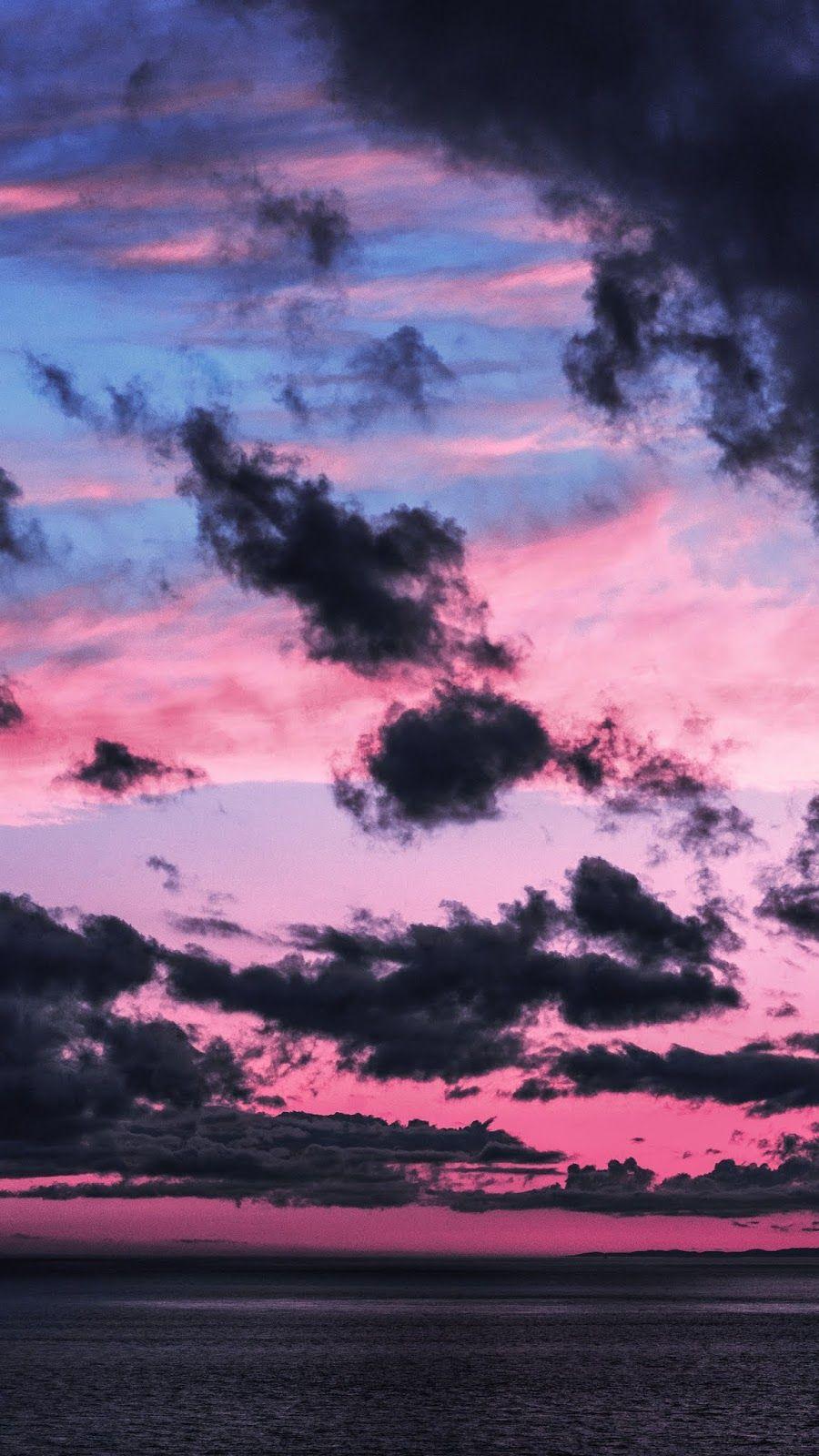 My Favorite Wallpaper Clouds Night Sky Wallpaper Dark Wallpaper Iphone Iphone Wallpaper Sky