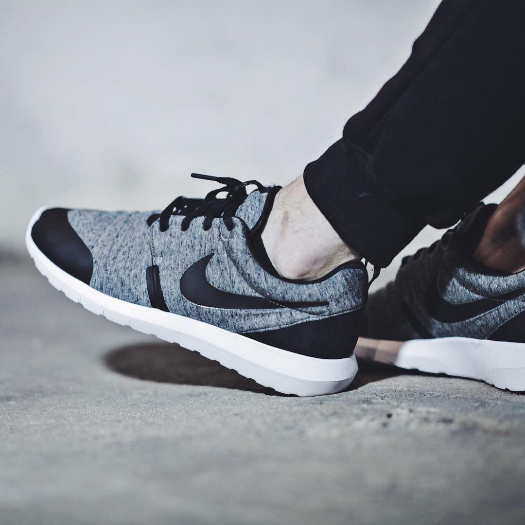 pretty nice 19072 f5a70 Nike Roshe One NM Fleece Pack - Cool Grey/Black - 2015 (by diecold ...