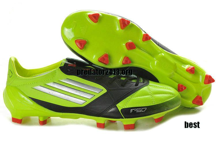 Adidas F50 Adizero 2012 miCoach Leather Lime Green Black Silver Leo Messi  Ballon DOR Football Boots 0b6ea73ec540