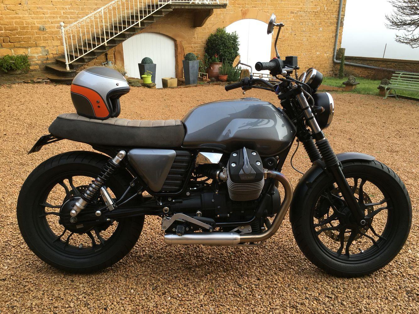 moto guzzi v7 baak custom bikes motorrad. Black Bedroom Furniture Sets. Home Design Ideas