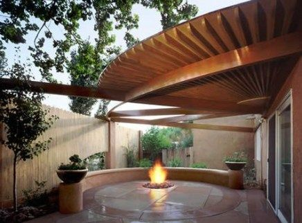 Trendy small patio roof fireplaces 31+ ideas #sichtschutzfürterrasse