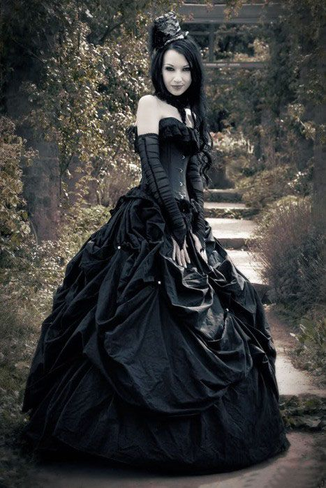 gothic #ball #gown | Goth | Pinterest | Ball gowns, Gothic and Gowns