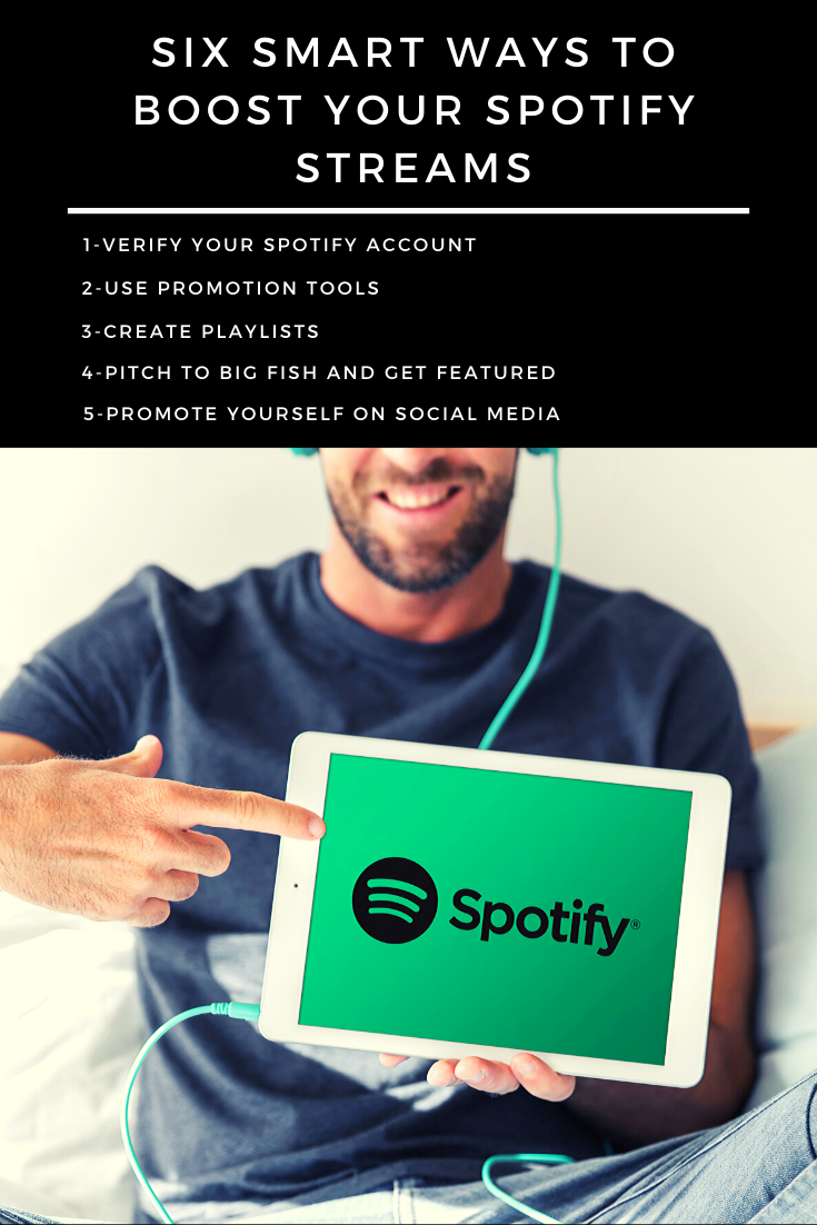 Six Smart Ways to Boost your Spotify Streams (With images