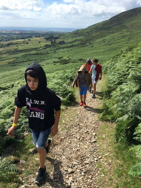 Excursión por la montaña \