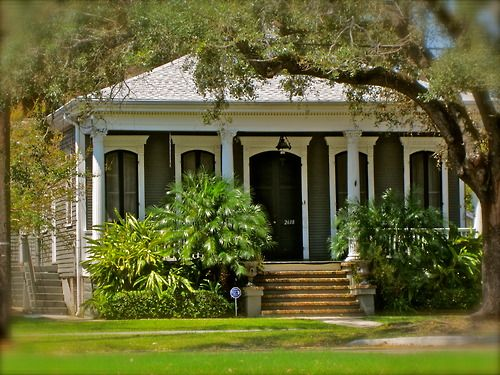 Creole Cottage Exterior