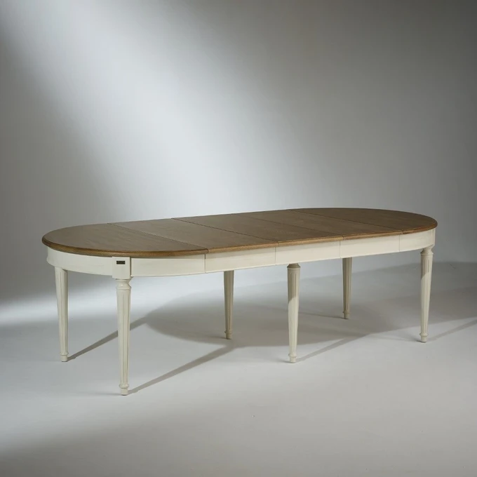 Table Salle A Manger Florence Extensible 4 A 12 Couverts Table Salle A Manger Decoration Maison Salle A Manger