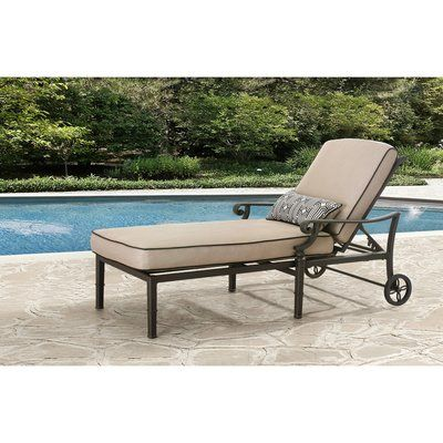 Darby Home Co Derry Chaise Lounge With