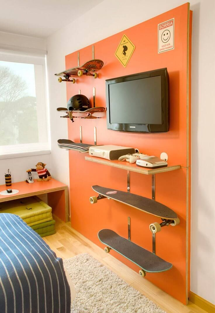 33 Cool Teenage Boy Room Decor Ideas Teenager Zimmer Jungszimmer Teenager Zimmer Jungs