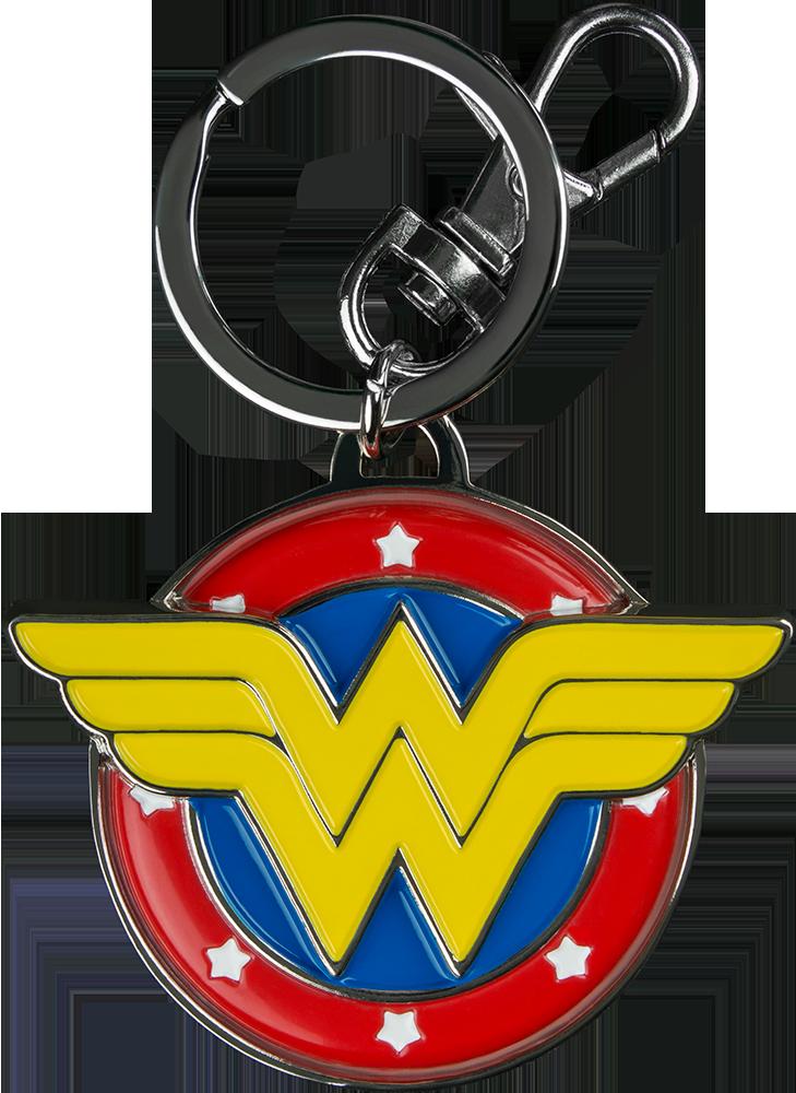 Wonder Woman Logo Keychain DC Comics Logo Keychain