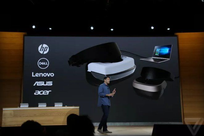 verge: Microsoft announces new VR headsets for Windows 10 starting at $299 https://t.co/ywmjoAHFy6 https://t.co/MSGUfbH9Yc