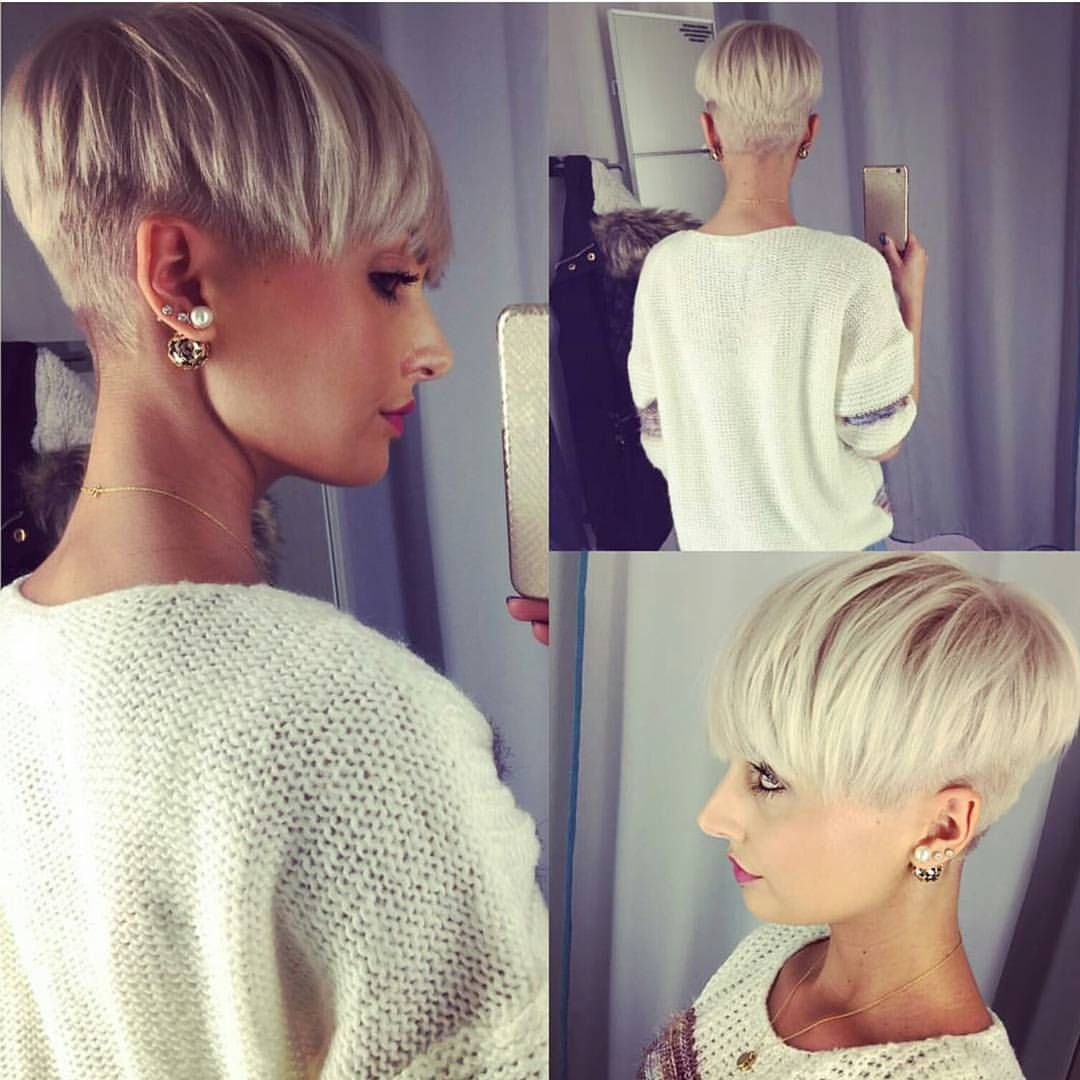 2608 Likes 64 Comments Short Hairstyles Pixie Cut