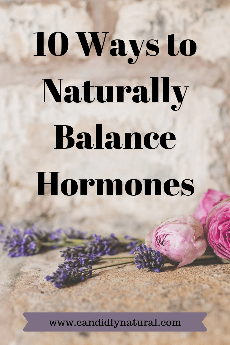 10 Ways to Balance Hormones Naturally and Reduce PMS - The ...