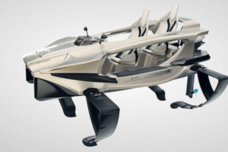 Moto ecológica que vuela sobre el agua (Video) - http://www.notiexpresscolor.com/2016/12/29/moto-ecologica-que-vuela-sobre-el-agua-video/