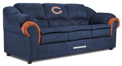 Chicago Bears Pub Sofa