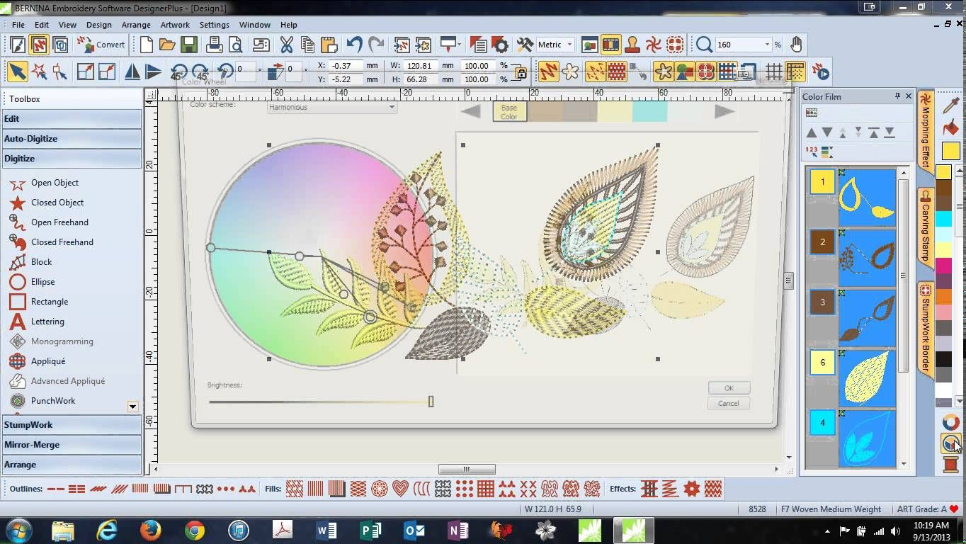 Great Tutorial On The V7 Software If You Want This Software Or Would Loke To Sign Up For Ma Embroidery Software Bernina Embroidery Bernina Embroidery Machine