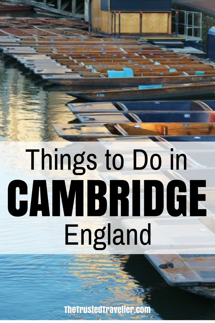 Punting is a popular past-time in Cambridge - Things to Do in Cambridge, England - The Trusted Traveller