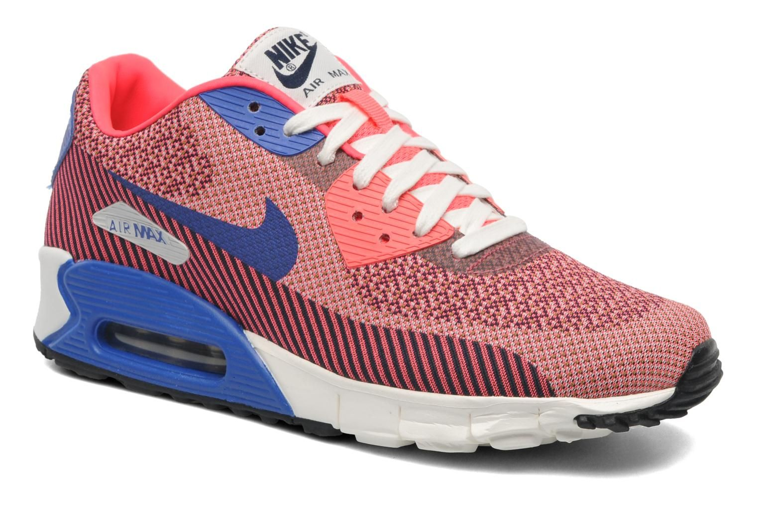 coral and blue nike air max 90   I need to walk with style ... 38d396b635e
