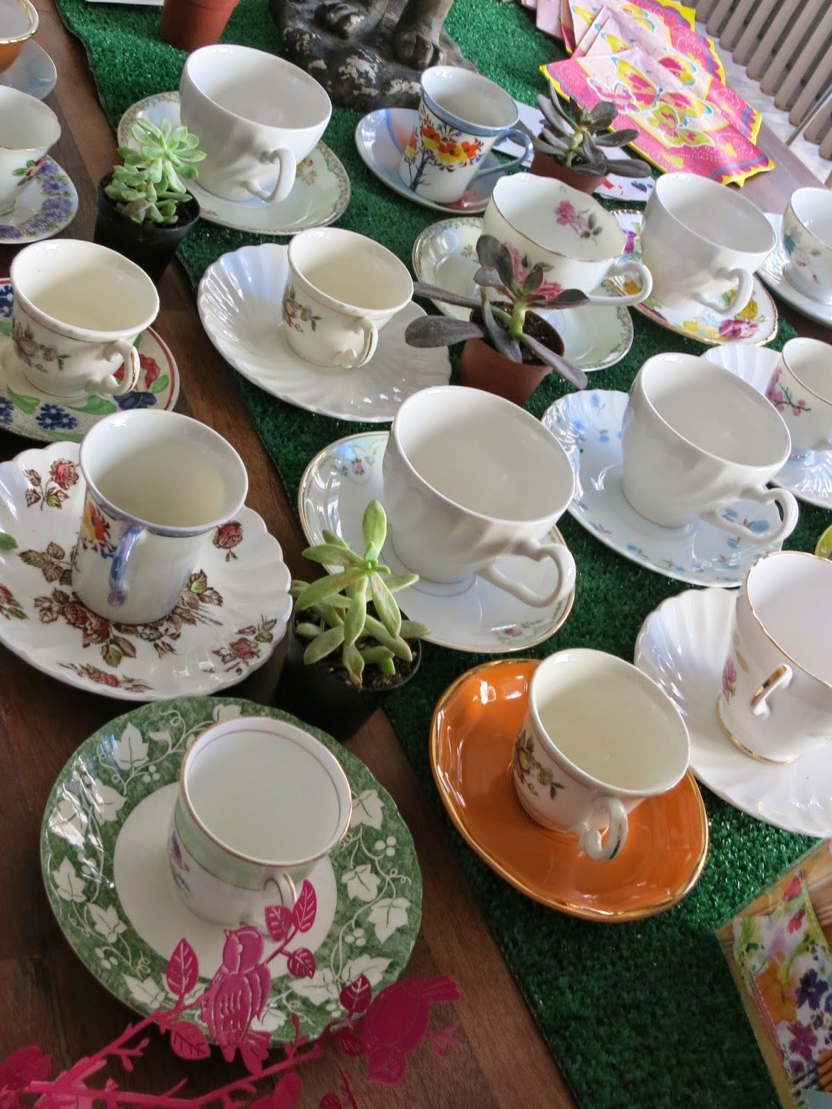 Gorgeous tea cups
