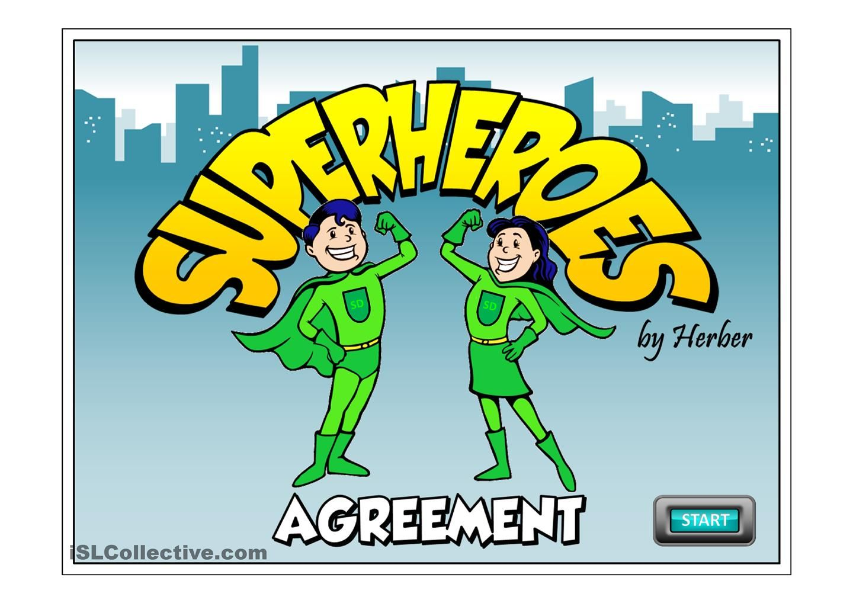 Superheroes Esl Printable Esl Powerpoint Worksheet Of The