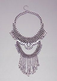 { Chain link and Coin Necklace }
