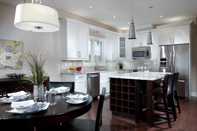 Farsight Homes Model Kitchen Greenfields Alliston Ontario Kitchen Models Kitchen Home Decor