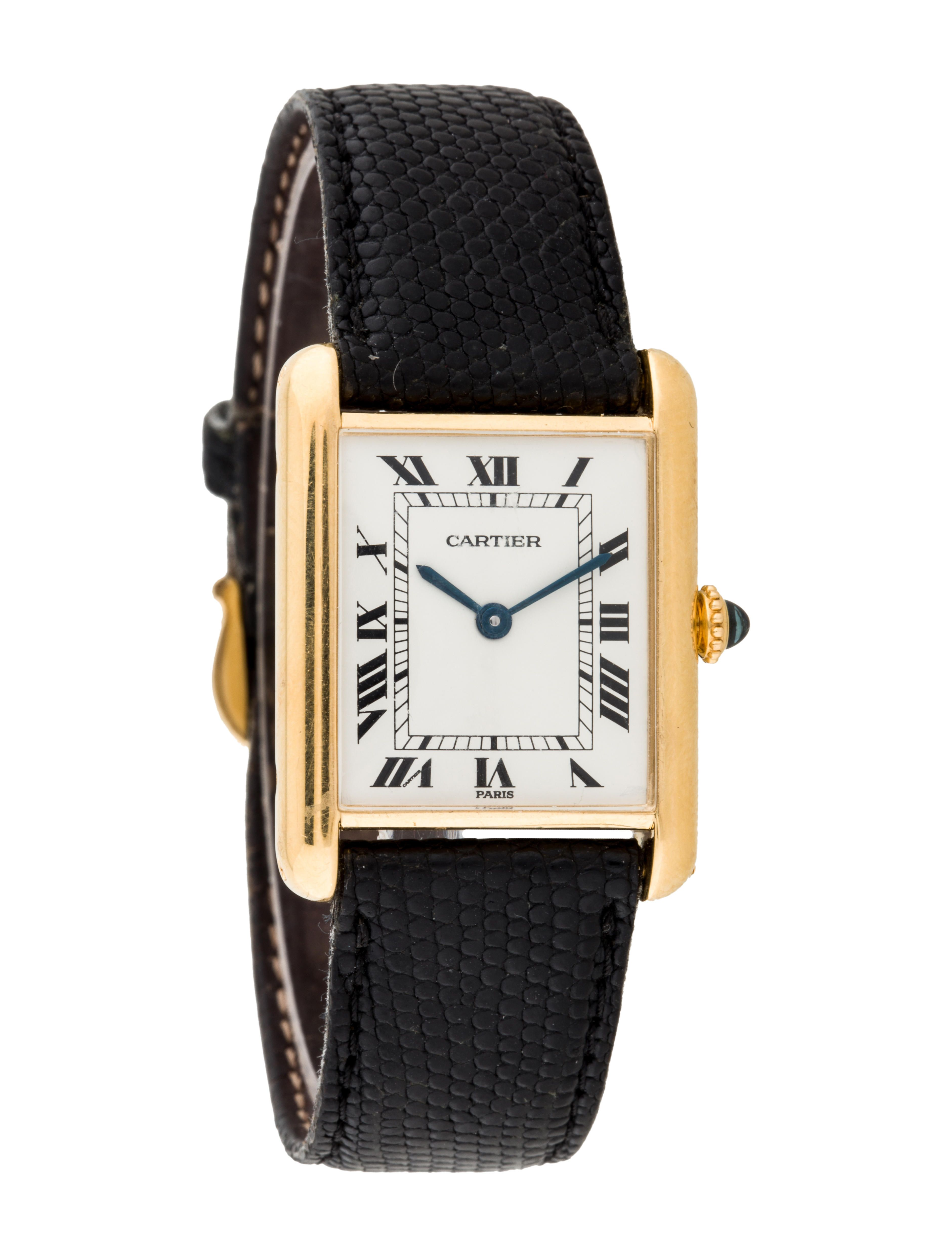 Louis Cartier Tank Watch in 2019 | At Ease... Timeless ...
