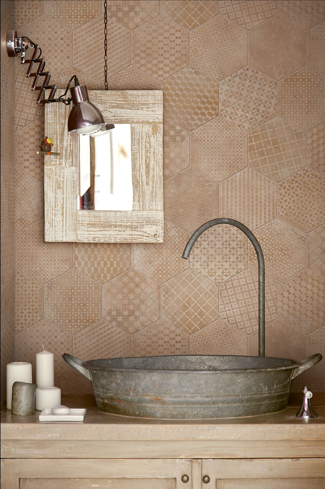 Bathroom tiles: ceramic and porcelain stoneware - Marazzi 7373 ...