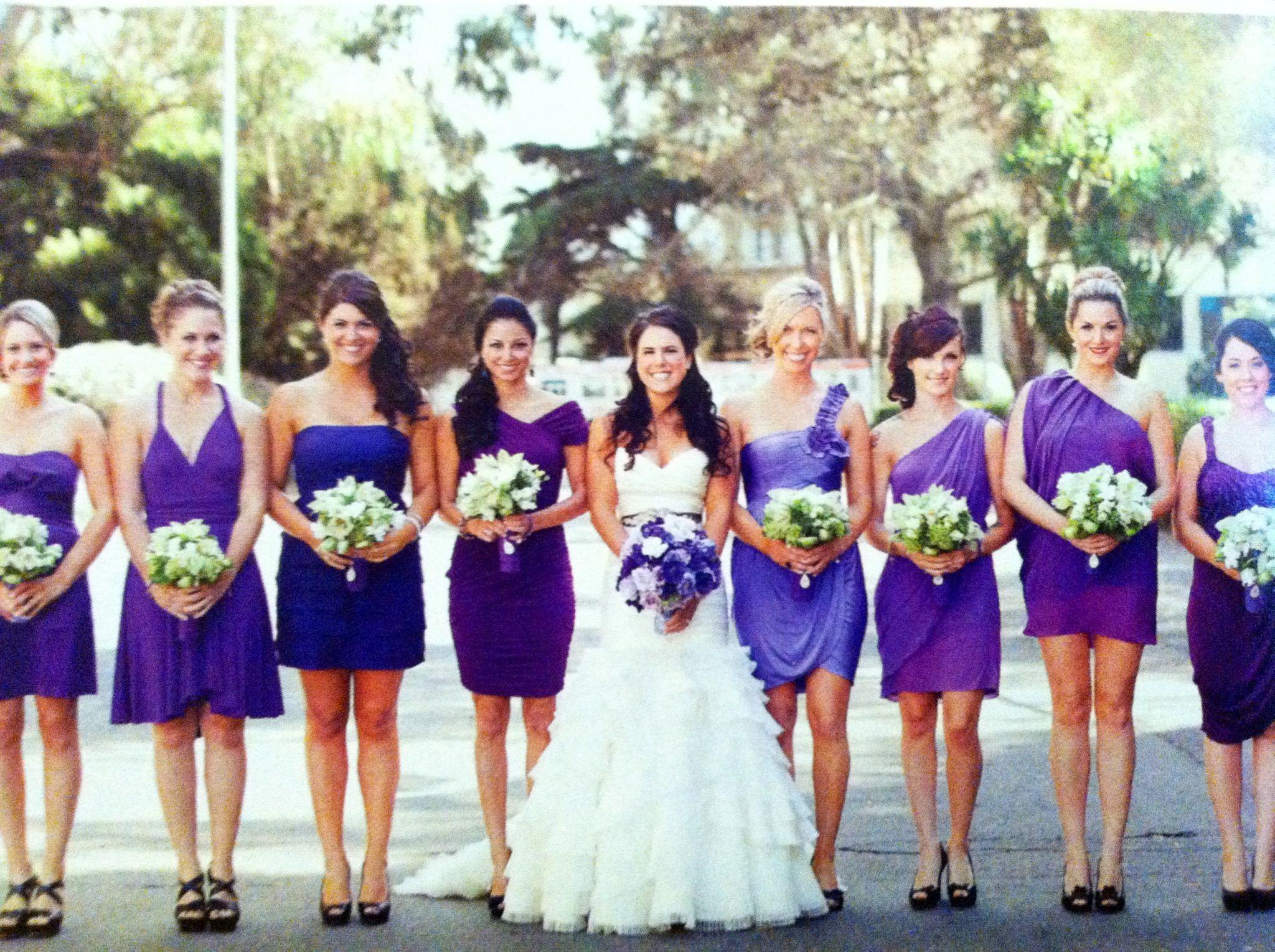 Mismatch Bridesmaid dresses!!! | Some day soon! | Pinterest ...