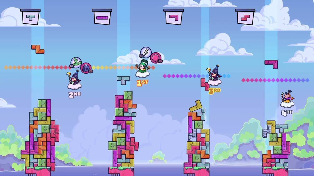 [Video] Tricky Towers crazy comeback! Playstation4 PS4